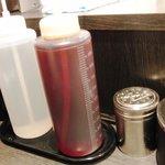 東京麺珍亭本舗 - これが酢とラー油