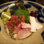 琉球料理 ぬちがふぅ - 刺身に関しては那覇市内の居酒屋の方がレベルが高い