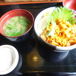 52211596 - 小ウニ丼セット 2,180円