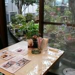 グリーンハウス - 今回利用させていただいたテーブル席