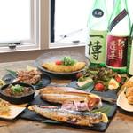 北新地日本酒酒場キャンプ - お得な飲み放題付き宴会コース3500円〜(税込)