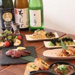 北新地日本酒酒場キャンプ - 女性向けビール無し、サングリアも飲める飲み放題コースがなんと2500円!(税込)