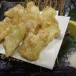ゆうき家 - フグの天ぷら