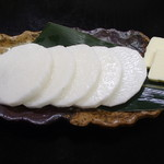 ゆうき家 - 山芋のバター焼