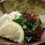 ゆうき家 - 白子ポン酢