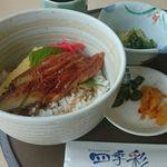 レストラン四季彩 - 料理写真:ミニうな丼