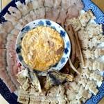 志乃家 - 料理写真:鱧すき鍋、鱧の子卵とじ、湯引き、