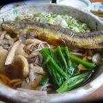 ふるさと - 料理写真:岩魚ソバ750円