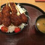 凡凡屋 - ソースカツ丼