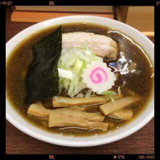 三三七 - 煮干中華そば 750円
