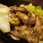 居酒屋 幸ちゃん - 地頭鶏火柱焼