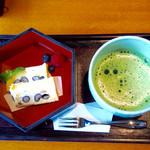 茶寮 八翠 - 一保堂茶舗の抹茶