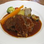 スパイスガーデン - 和牛ほほ肉のオーブン煮
