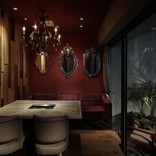 完全個室5部屋をご用意。ゆったりとした空間で安心なお食事を!