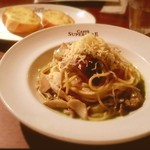 イタリアン・トマト カフェスペリオーレ コンフォートホテル中部国際空港店 - ナスときのことシラスのジェノベーゼ