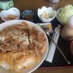 とんかつ げんき - メタボかつ丼【料理】