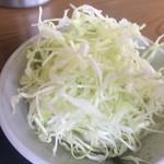 とんかつ げんき - 千切りキャベツ【料理】