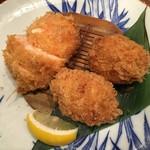 かつ吉 - 海の幸フライ定食