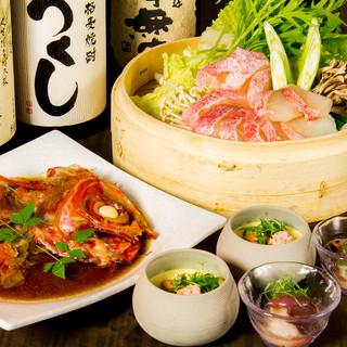 【個室完備】旬鮮魚コース11品+飲み放題付3998円