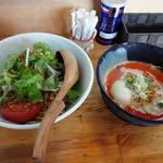 中華そば de 小松 - 冷やし坦々つけ麺(昼営業限定)