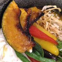 北海道咖喱饂飩 亀 - 旬のお野菜すあげ