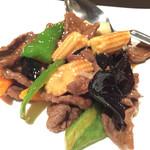 Shanhairakui - 牛肉のオイスターソース
