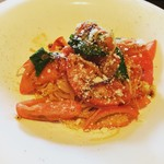 BONTA W - トマトの冷製パスタ