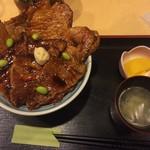 52227962 - 2016年6月 半ばら豚丼 中盛 1200円(税込)