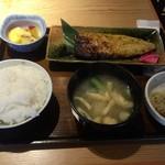52232776 - 鯖の大葉味噌焼き定食