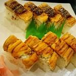 天勝 - 穴子棒寿司 焼き・蒸し