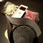 てんくう - 和牛石焼特上カルビ・1,598円
