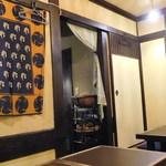 タイガー食堂 - 奥の座敷