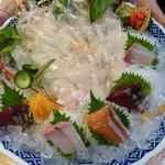 博多 魚一番 - 刺身盛り合わせ