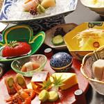 大山の杜 あつ木 みやこ家 - 料理写真:懐石料理