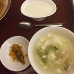 52242191 - 搾菜,スープ,杏仁豆腐