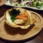 農家と漁師の台所 北海道知床漁場 - ホタテバター醤油焼き