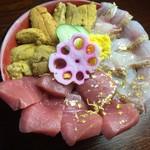 刺身屋 - 贅沢三昧丼