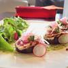 ビストロ ムッシュ - 料理写真:カツオのマリネのサラダ仕立て