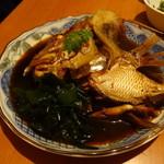 宇佐川水産 銀座店 じまんしー - 鯛のかぶと煮
