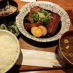スギノタマ - 熟成ぶり大根定食