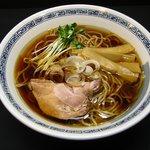 ゆうひ屋 - 料理写真:淡麗煮干ラーメン