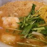 レストランしばらく - 料理写真:海老味噌ラーメン