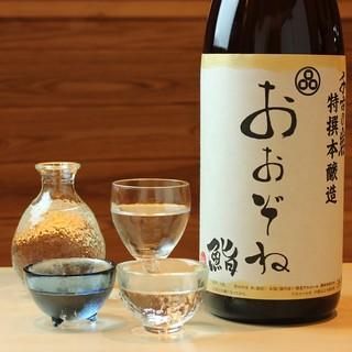 オリジナル日本酒680円