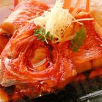 喰い道楽 福寿丸 - 料理写真:金目鯛の煮付け 2,000円位