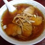 三宝楼 - チャーシュー麺。あまり美味しそうではない(T_T)