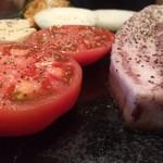 52257548 - 野菜焼きとイベリコ豚ワイン熟成カルビ。