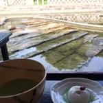 汐入亭 - お抹茶セット500円