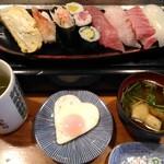 だるま寿司 - (ランチ)にぎり寿司 (2)