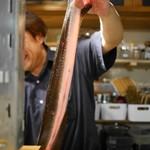 潟潟ヤ - 立派な天然鰻