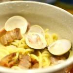 潟潟ヤ - 蛤の鶏白湯ラーメン